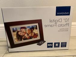 """INSIGNIA 10"""" Digital Photo Frame Premium IPS Panel"""