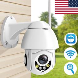 1080P 2MP Full Color IP Camera PTZ Wifi 5X Zoom Outdoor Wate
