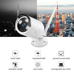 1080P Outdoor Wireless WIFI IP Camera SD Slot Network Night