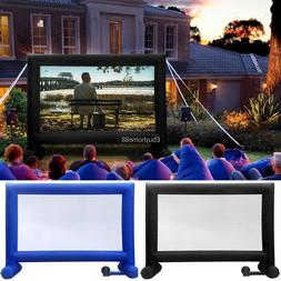 14 Ft Inflatable Mega Movie Screen for Outdoor Parties Inclu