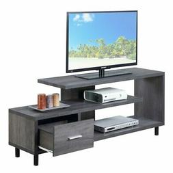 "Convenience Concepts 151750WGY Seal II TV Stand, 60"", Weathe"