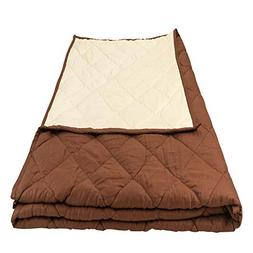 Aviano 15lbs Weighted Blanket for Adults 100% Cotton: Queen