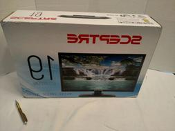 """Sceptre 19"""" Class HD  LED TV  with Built-in DVD Player NEW"""