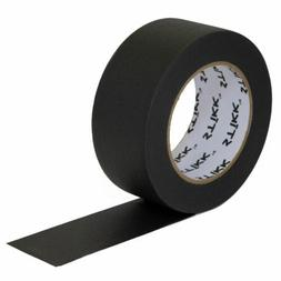 """2"""" inch x 60yd STIKK Black Painters Tape 14 Day Easy Removal"""
