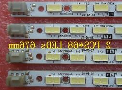2 PCS* 68LEDs 676MM LED strip for LCD-60LX640A LCD-60LX540A