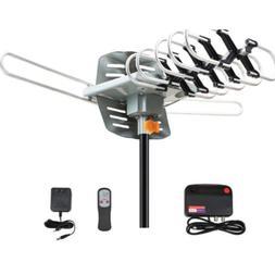 200 Miles TV Antenna Amplified Long Range Outdoor HD Digital