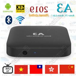 2019 Newest A3 TV BOX Well as HTV5