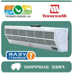24, 36, 48 and 60 Inch Maxwell Air Curtain with Electric Hea