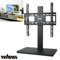 "27""-55"" Height Adjust Desk Tabletop TV Mount w/ Bracket Meta"