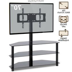 3-in-1 Floor TV Stand with Swivel Mount for 32-70 inch LED L