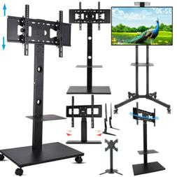 "32 42 55 65 70"" Floor Mobile TV Stand Steady Tabletop TV Mou"