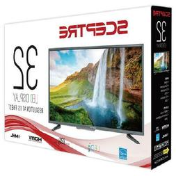 "32"" HD Flat-screen Sceptre TV, Cheap, Quality, LED"