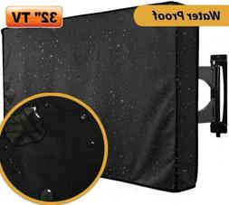 """32"""" TV Cover LCD LED Set Waterproof Television Protector Out"""