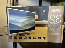 "32"" Hitachi Ultrathin 720p 60Hz LED TV LE32S406"