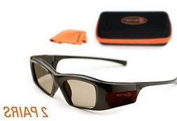 3ACTIVE? Samsung-compatible 3D Glasses for Bluetooth 3D TVs.