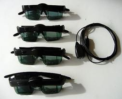 3D Glasses and Emitter  For MITSUBISHI or Samsung 3DC-1000 ,