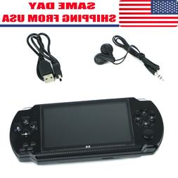 4.3'' PSP Portable Handheld Video Game Console Player Built-