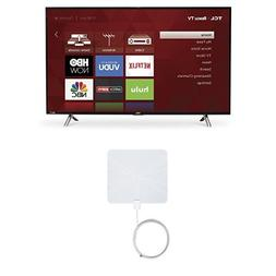 TCL 43S305 43-Inch 1080p Roku Smart LED TV  with Winegard Fl