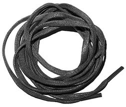 "Shoeslulu 47"" Premium Flat Waxed Cotton Bootlaces Shoelaces"