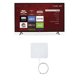 TCL 49S305 49-Inch 1080p Roku Smart LED TV  with Winegard Fl