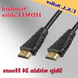 4K HDMI Cable 3FT 6FT 10FT 15FT 25FT 30FT 40FT 50FT LOT 3D H