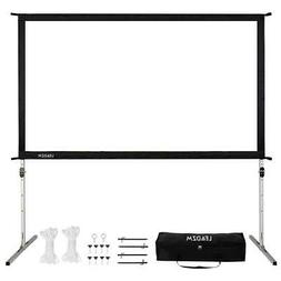 4K Ultra HD 3D Movie Theater Fast Fold Projector Screen Stan
