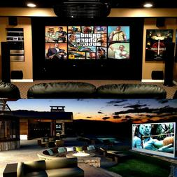 4k Ultra HD Home Theater Projector & Screen Combo Locus L100