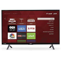 "TCL 55"" 4K Ultra HD 120Hz HDR Roku Smart TV 2017 Model with"