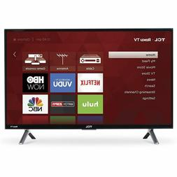 TCL 55-Inch 4K Ultra HD Roku Smart LED TV 120Hz HDR 3 HDMI C