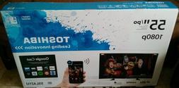 "Toshiba 55"" Inch LED SMART HD TV + WiFi, Apps, GoogleCast, M"