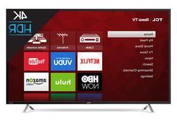TCL 55S405 55-Inch 4K Ultra HD Roku Smart LED TV Black