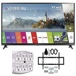 LG 55UJ6300 55-inch 4K Ultra HD Smart LED TV  w/Wall Mount B