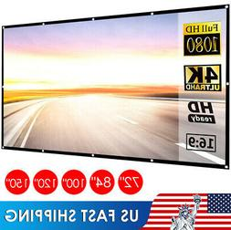 60 150 inch projector screen 16 9