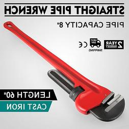 "60"" Cast Iron Straight Pipe Wrench WRENCH 60-INCH CAST-IRON"