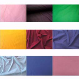 "60"" INCH COTTON POLYESTER BROADCLOTH FABRIC QUILTING SHEETS"
