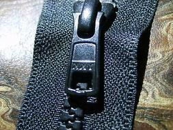 60 inch Open ended, YKK #5 MARINE ZIPPERS.BLACK or WHITE. BO