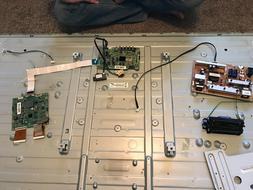 samsung 60 inch power board, video board, tcom board, and 36