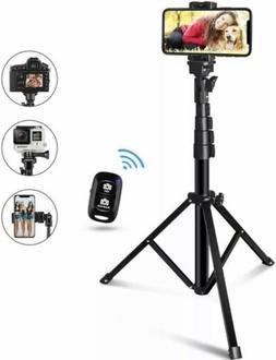 60-inch Selfie Stick Tripod, UBeeszie Extendable Cell Phone