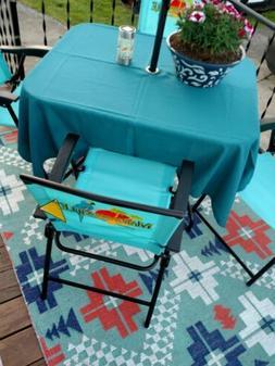 """60"""" inch Tablecloth square  or Round Umbrella Patio COTTON 2"""