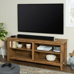 60 Inch TV Stand For Living Room Wooden Entertainment Center