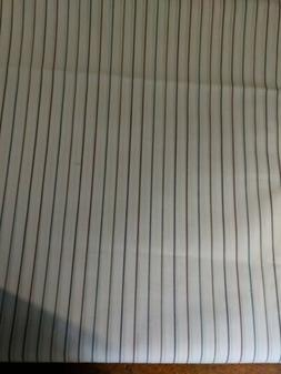 60 Inch Wide Striped Shirt Fabric 100% Cotton. Sold By The Y