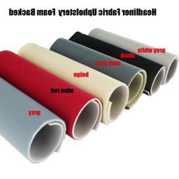 Headlining Fabric Headliner Foam Backing Auto Roof Craft Uph