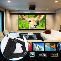 60inch portable foldable projector screen 16 9