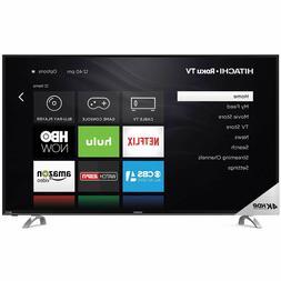 """Hitachi 65"""" """"Class 4K HDR 2160P Roku Smart LED TV 65R80 - NE"""