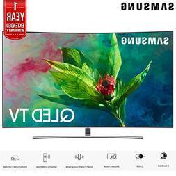 "Samsung 65"" Q7 QLED Curved Smart 4K UHD TV 2018 Model + 1 Ye"
