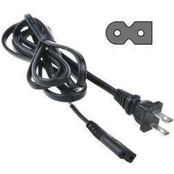 6ft 2-Prong Power Cord for PHILIPS 47PFL3603D 47PFL5704D LED