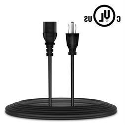 6ft UL AC Power Cord Cable for Hitachi Vizio Samsung Sharp P