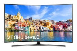 "Samsung 7-Series UN55KU7500 55"" Class UHD Smart Curved LED 4"