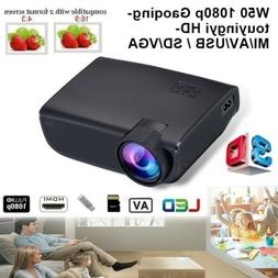 8000 Lumens 1080P Android/IOS WiFi 3D 4K HD LED Projector Ho