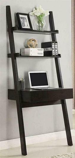 Coaster Furniture 801373 CO-801373 Ladder Desk, Cappuccino